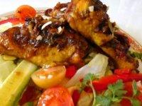 Thai barbecue currys sült csirke-salátával1