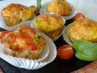 Tojásos zöldséges muffin