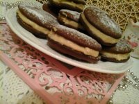 Whoopie pie sütiszendvics-karamellás mascarpone krémmel töltve13