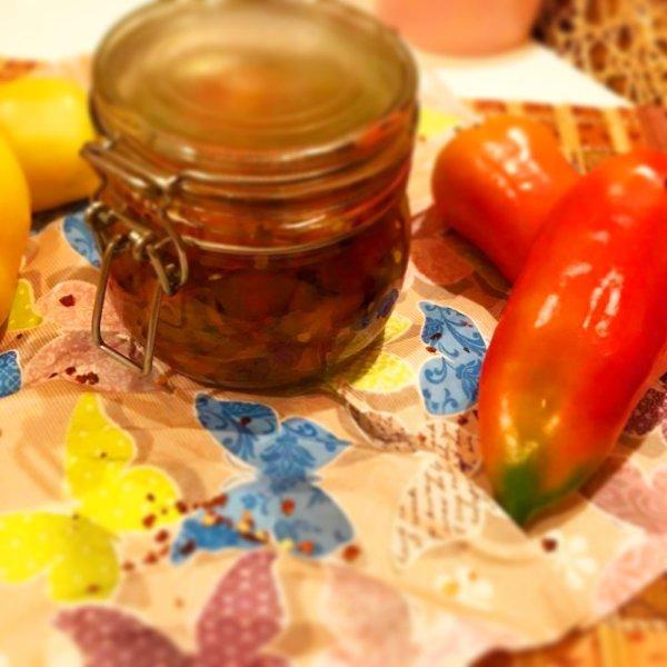 Fantasztikusan jó! Sült (marinált) chilis paprika olajban